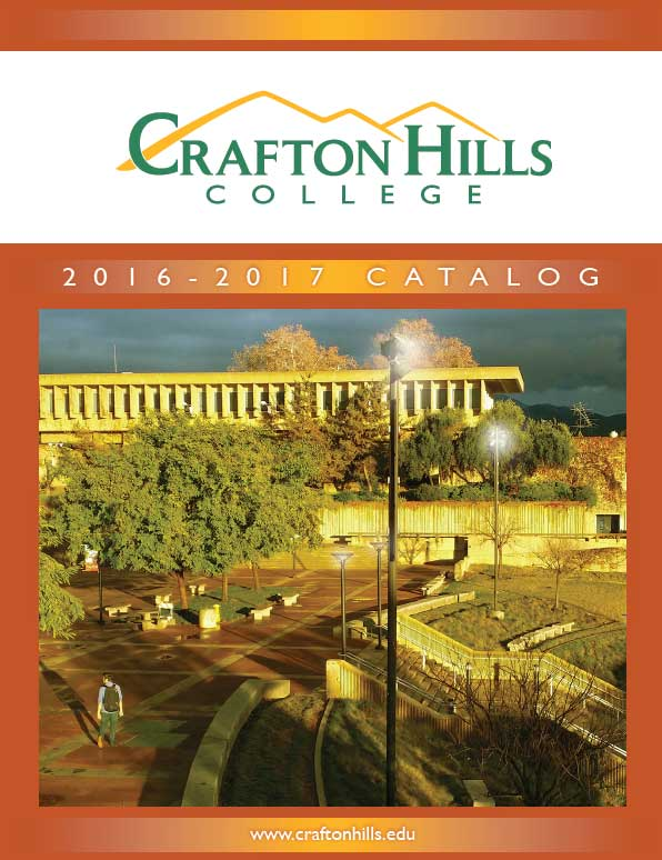 Crafton Hills College 2015-16 Catalog