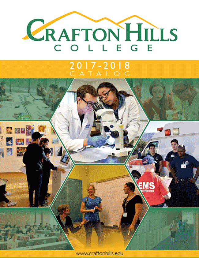 Crafton Hills College 2017-18 Catalog
