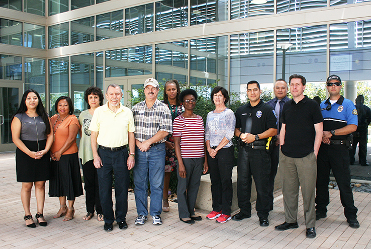 Members of the Behavior Intervention Team
