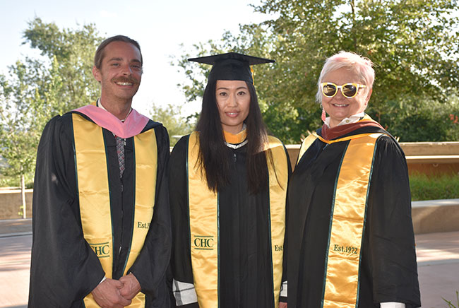 Scott Simonson, Margaret Yau and Snezana Petrovic