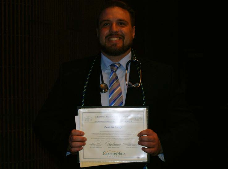 People at Respiratory Therapy Graduation