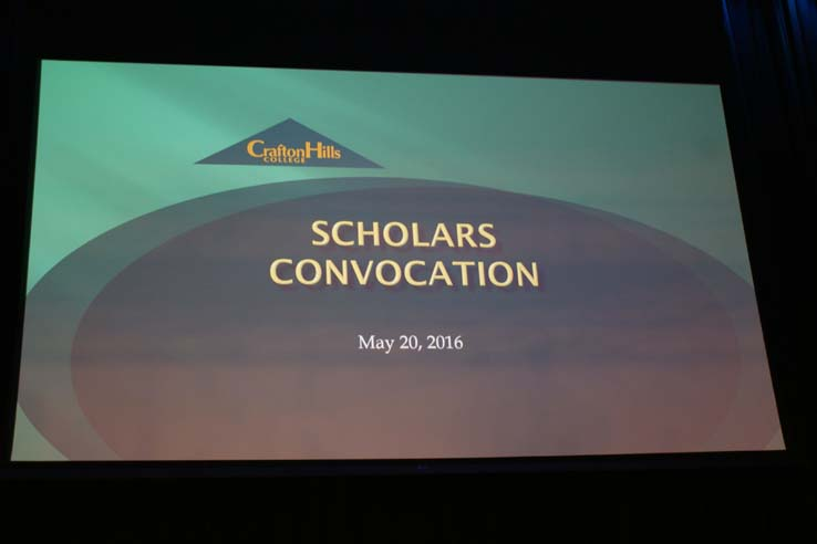 Scholars Convocation 2016