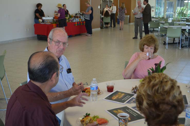 Faculty and staff at the Retiree Brunch