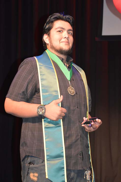 The EOP&S, CARE and CalWORKS Graduation ceremony