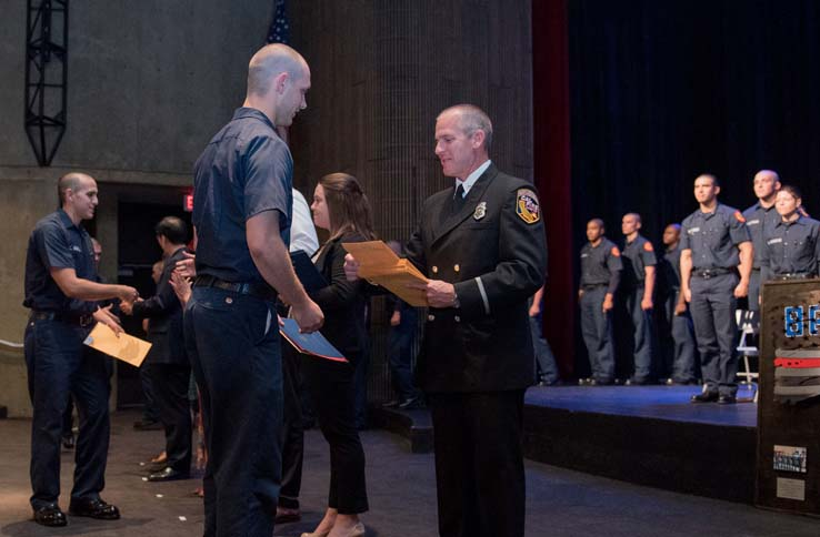 86th Fire Academy Graduation