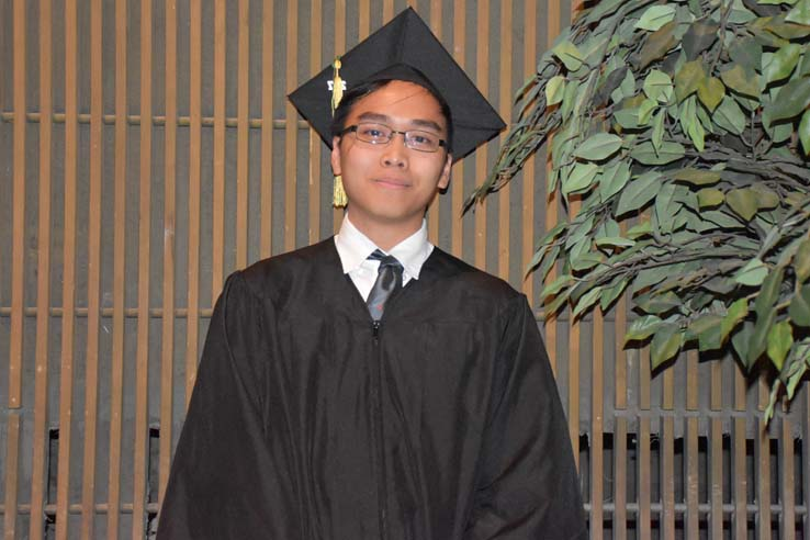 Portrait of student at Scholars Convocation