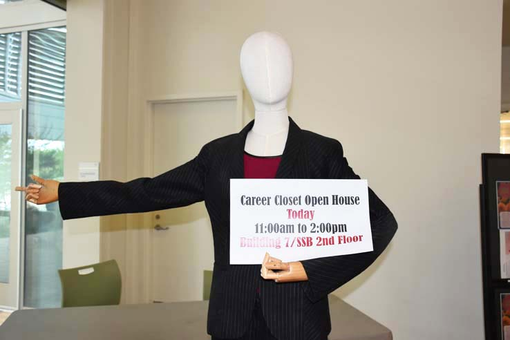Opening of the Career Closet