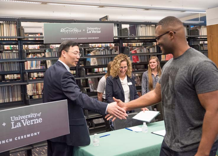 CHC–University of La Verne Partnership Signing Photos Thumbnail