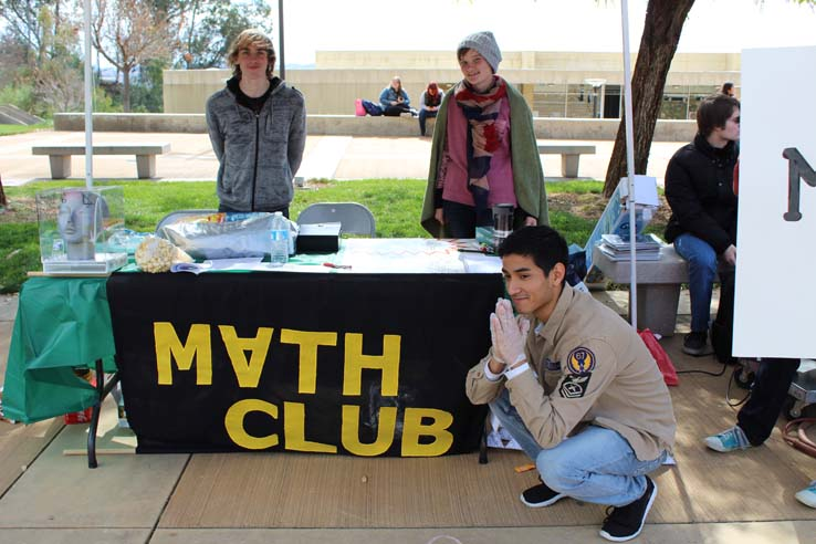 Students enjoying Club Rush