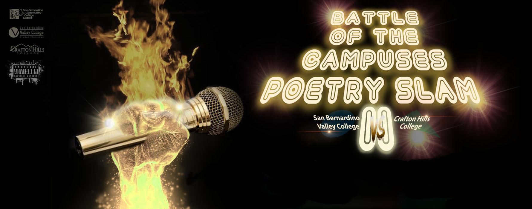 Battle of the Campuses Poetry Slam