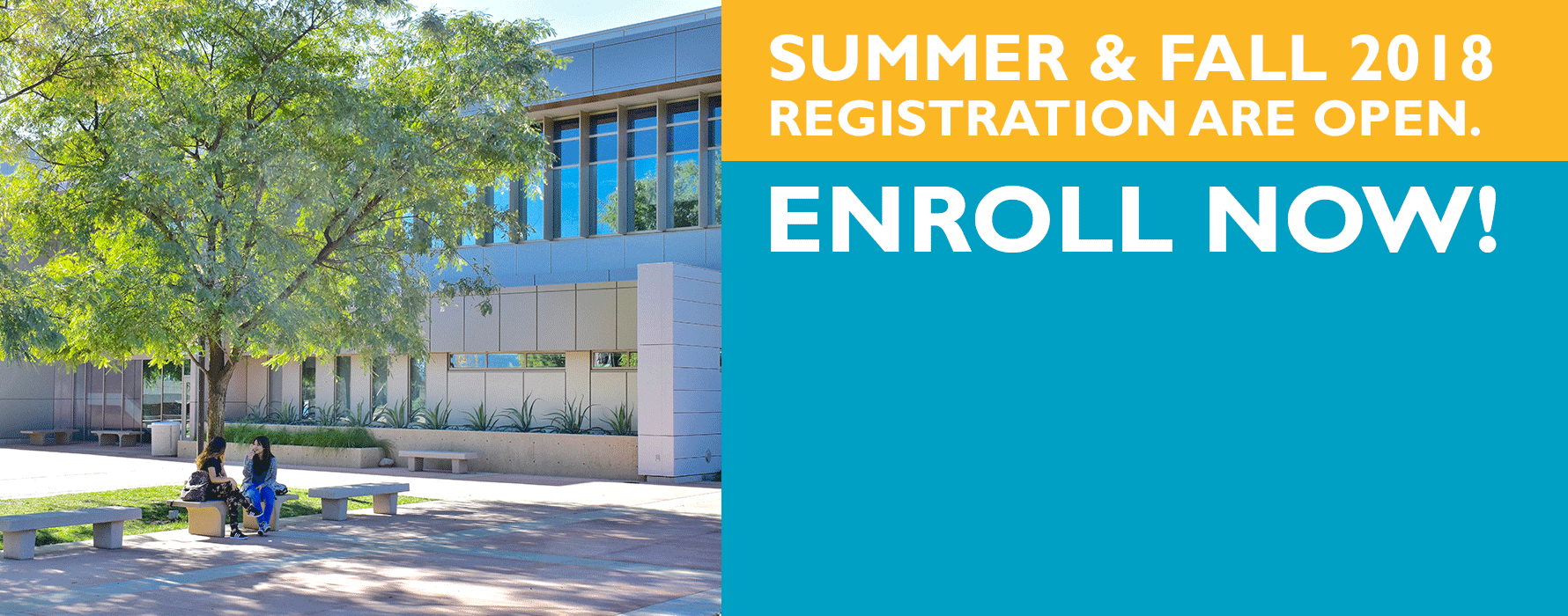Summer and Fall 2018 Registration now open!