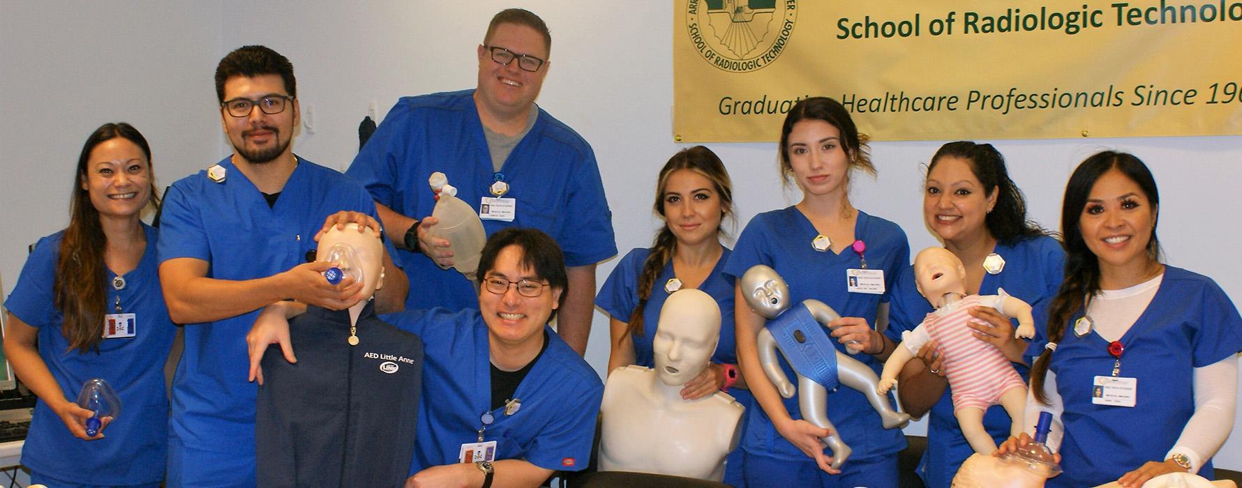 Radiologic Technology students