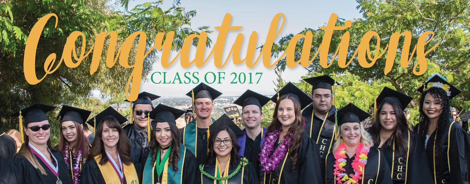 Congratulations Class of 2017