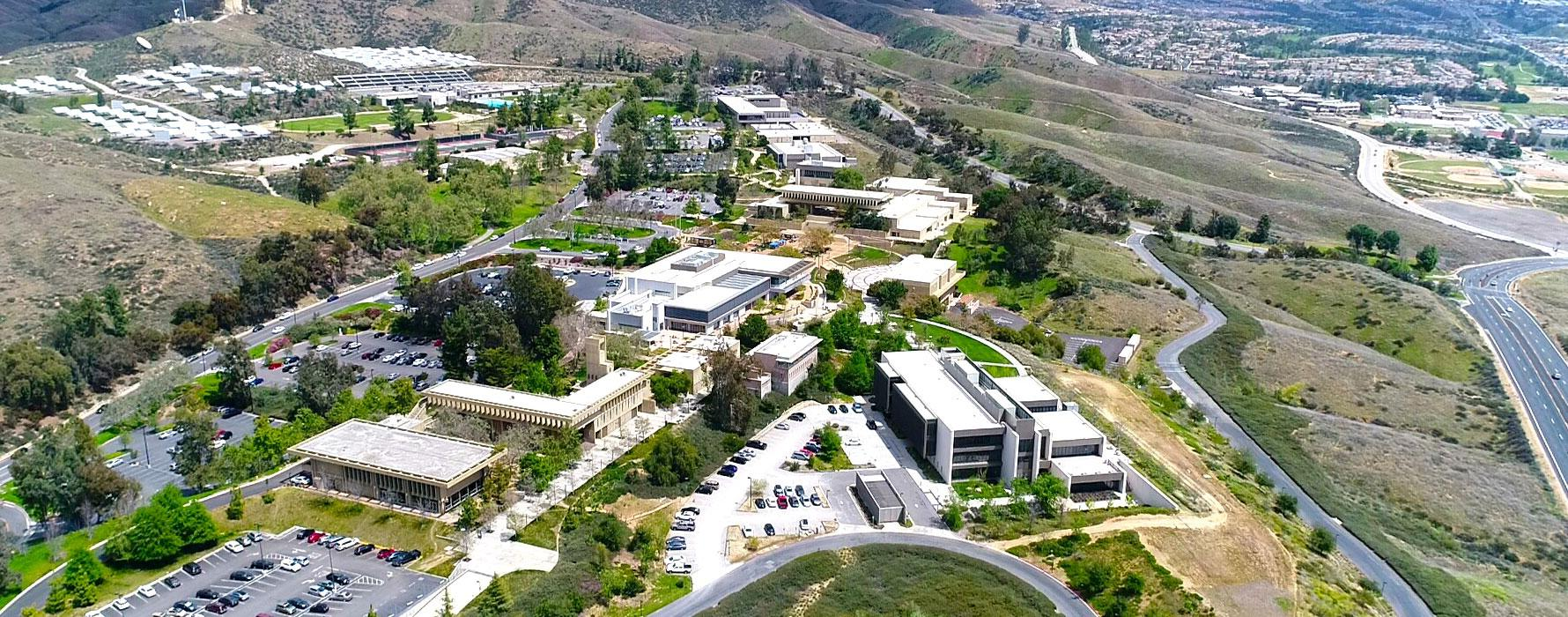 Crafton Hills College Campus Map.Visitors And Alumni