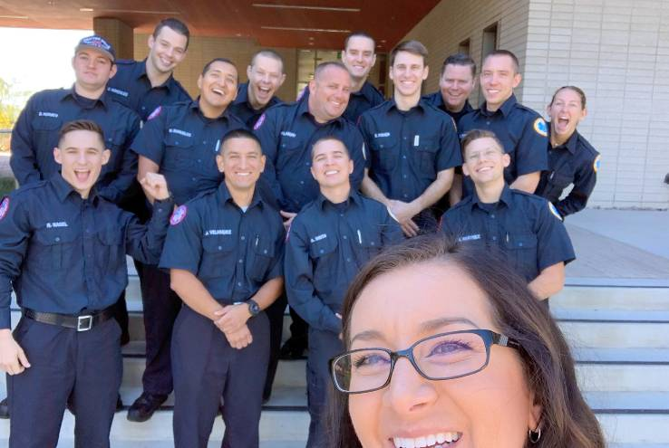 Crafton Emergency Medical Services Professor Selected to Share Knowledge at Prestigious Conference