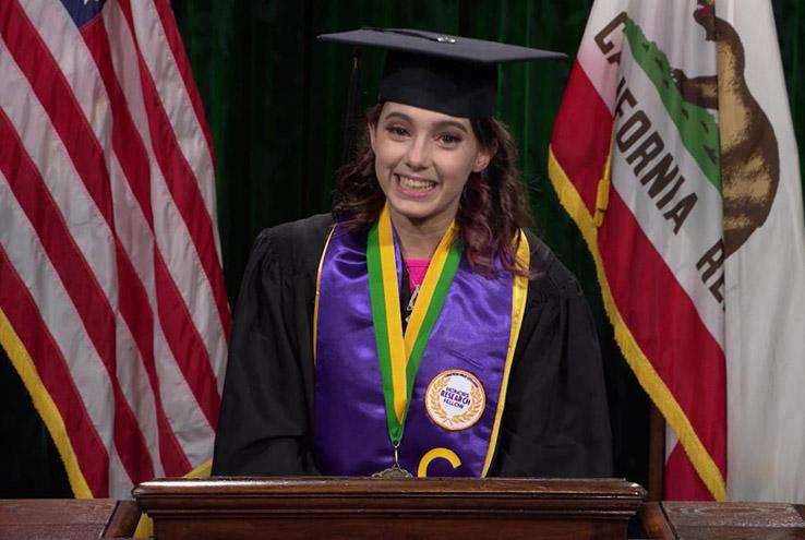 Student Speaker, Karina Lewis