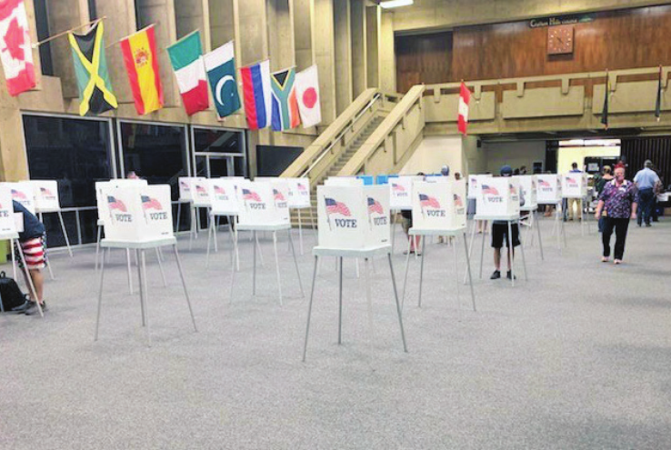 CHC Serves as Polling Location