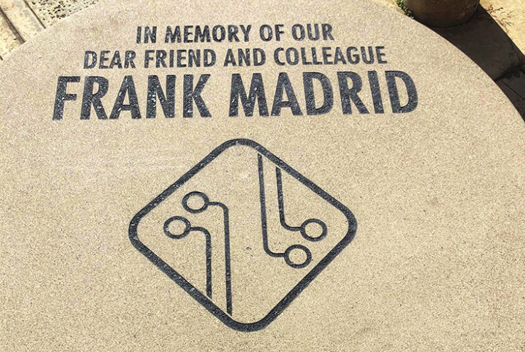 Academic Senate Places Memorial Table on Campus for Frank Madrid