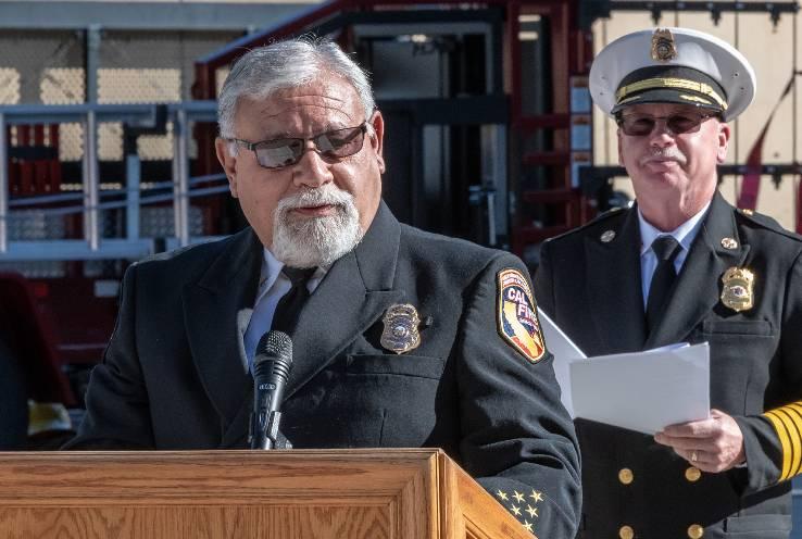 CHC Alumnus David Avila Endows Scholarship to Support CHC Fire Cadets