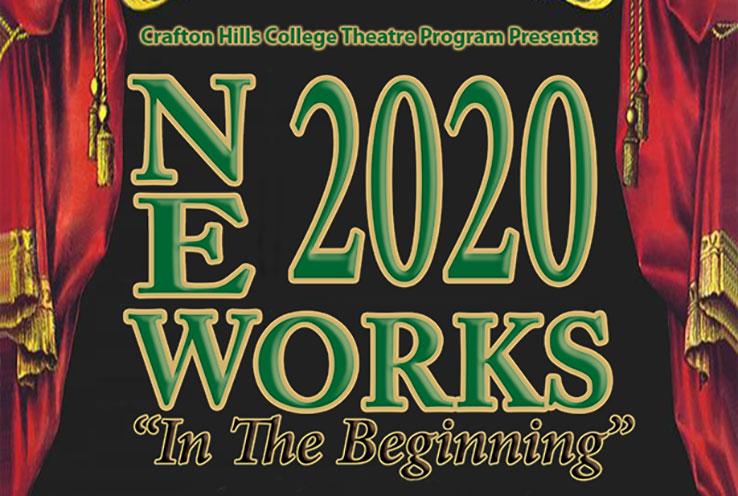Crafton Hills College Theatre Program Presents New Works 2020