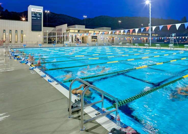Photo of the Aquatics Center Pool