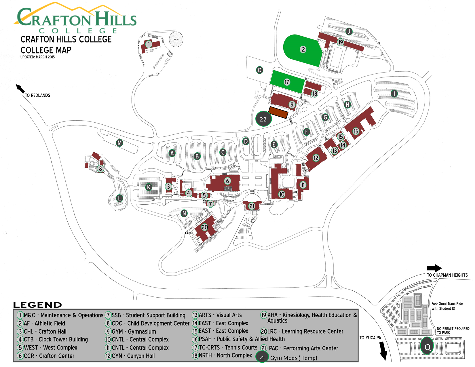 Crafton Hills College Campus Map.Crafton Hills College Campus Map Poisk Po Kartinkam Red