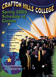 Cover of Spring 2005 Schedule of Classes