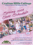 Cover of Spring 2008 Schedule of Classes