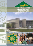 Cover of Fall 2009 Schedule of Classes